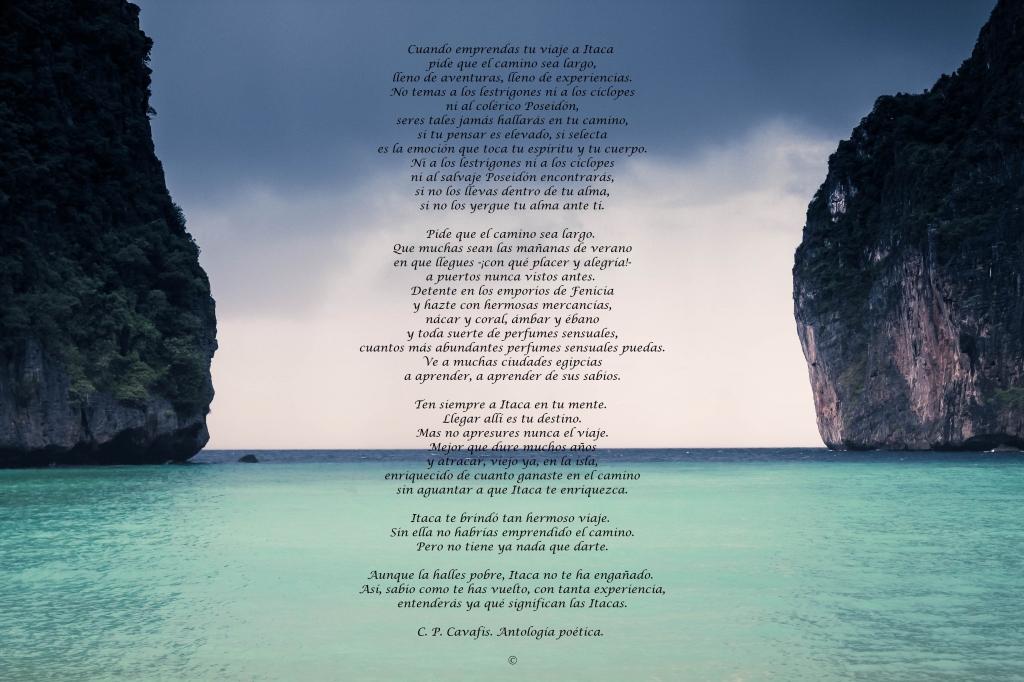 foto poema itaca psicologos coruña